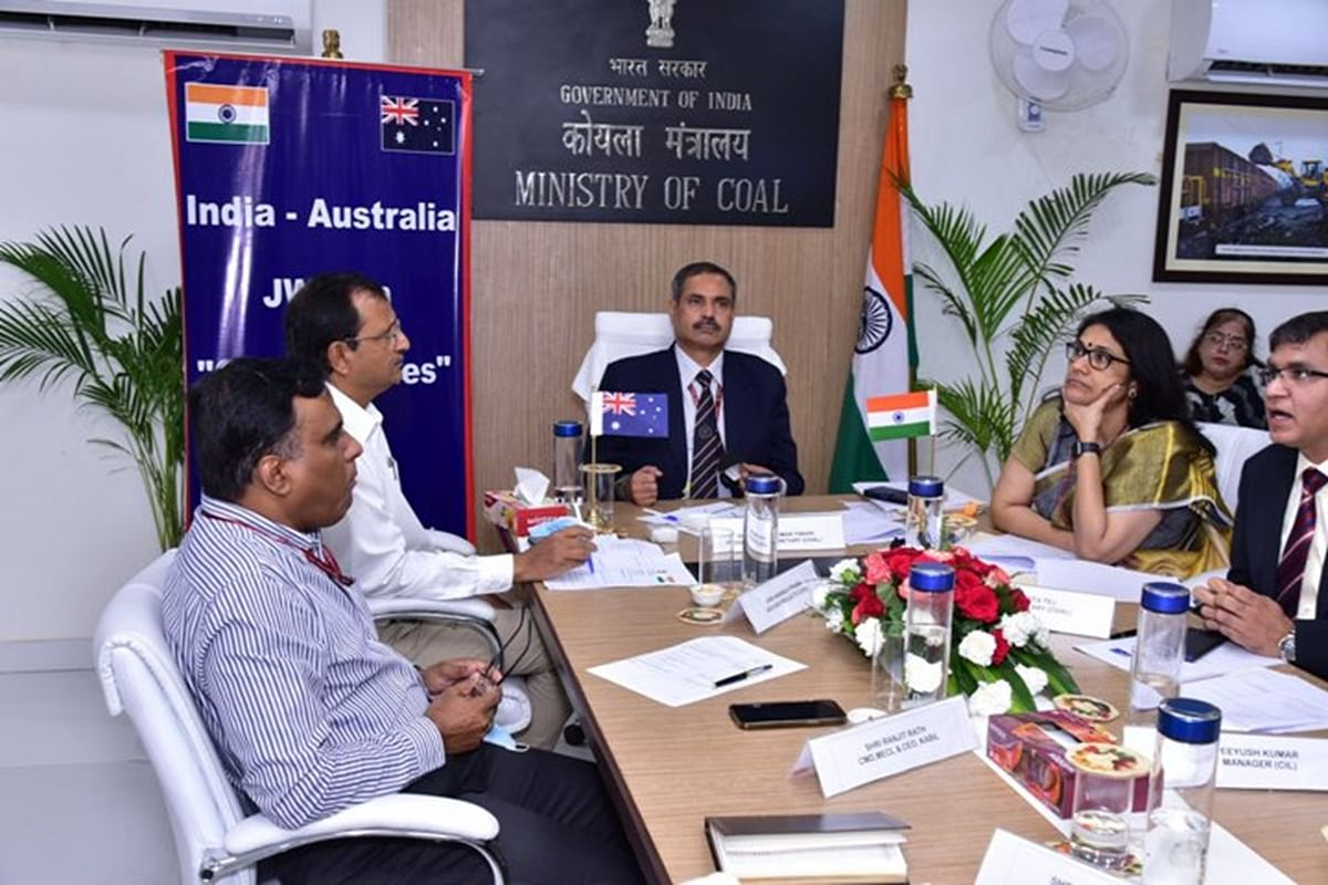 India Australia Joint Working Group on Coal & Mines Held