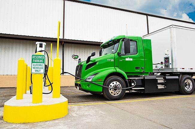 Volvo Trucks Deploys Volvo VNR Electric Model in US
