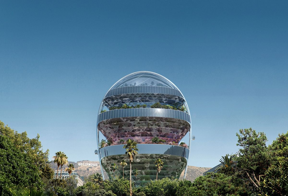MAD Architects Plans The Star Office Block in Hollywood