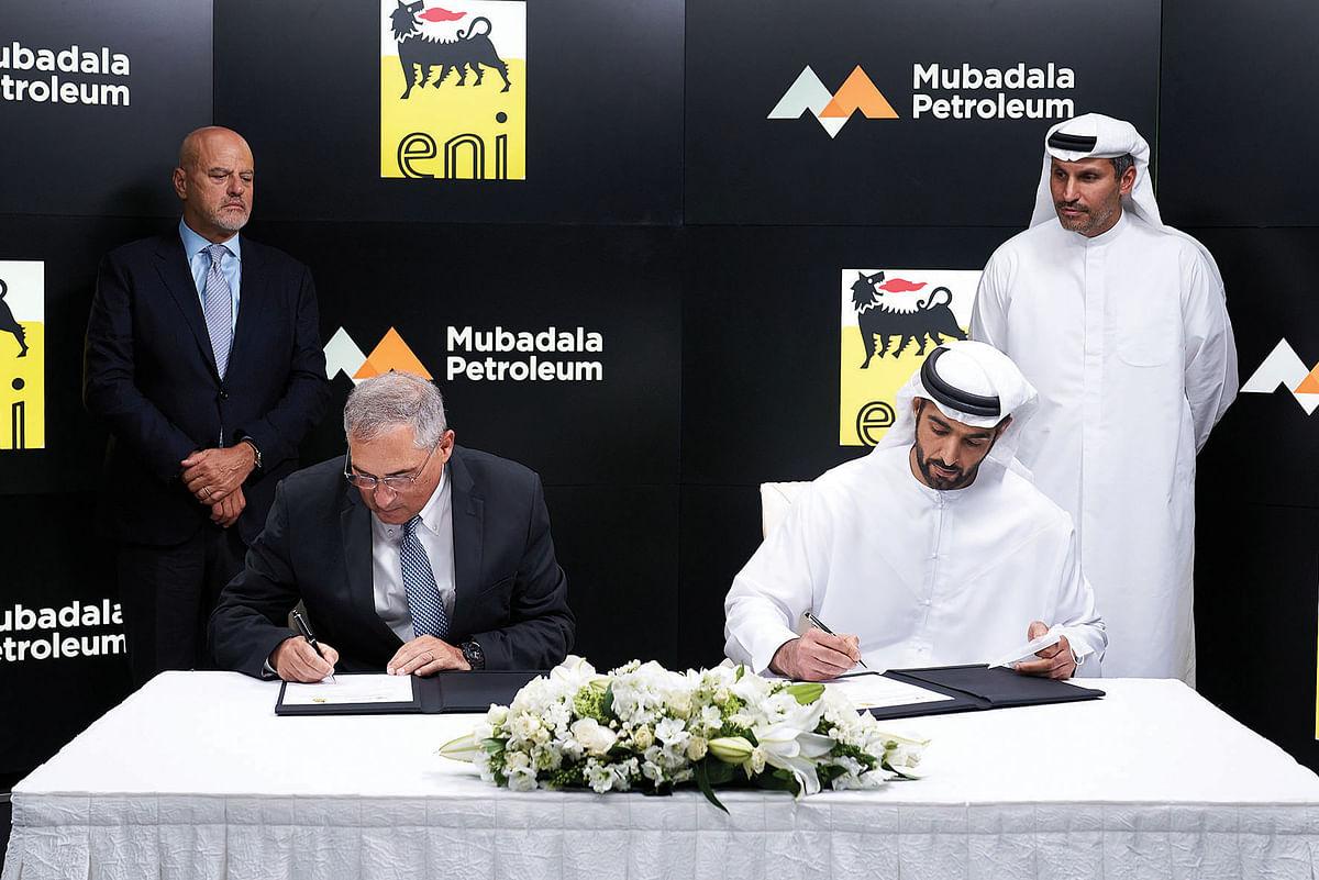 Mubadala & Eni Sign MoU for Energy Transition Initiatives