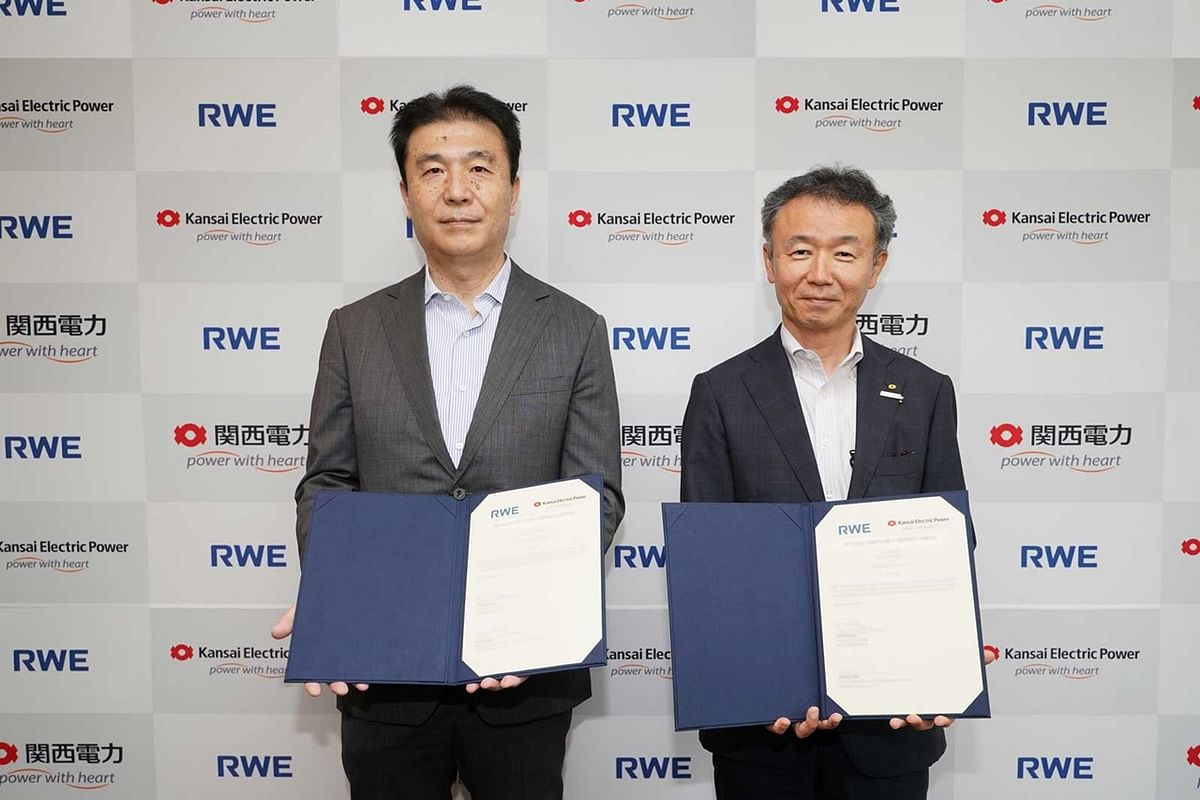 Kansai EPCO & RWE Join for Floating Offshore Wind Energy in Japan