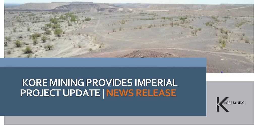 KORE Mining Discovers New Drill Target at Imperial Project