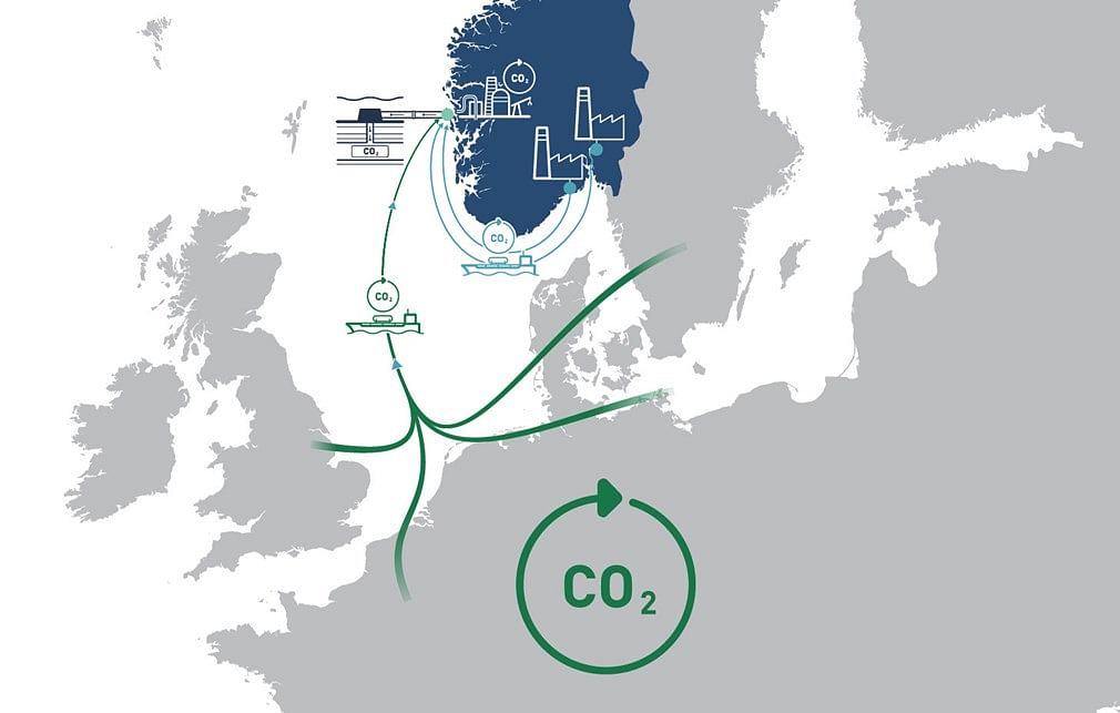 Award of Area for CO2 Storage in Norwegian Continental Shelf