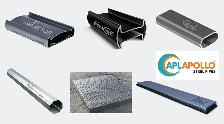 APL Apollo Tubes Receives Design Patents for 6 Innovative Products