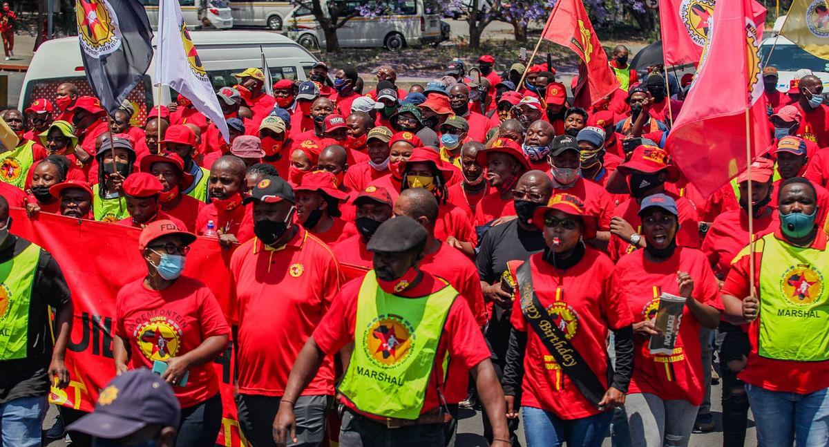 NUMSA Plans Indefinite Strike in South African Steel Industry