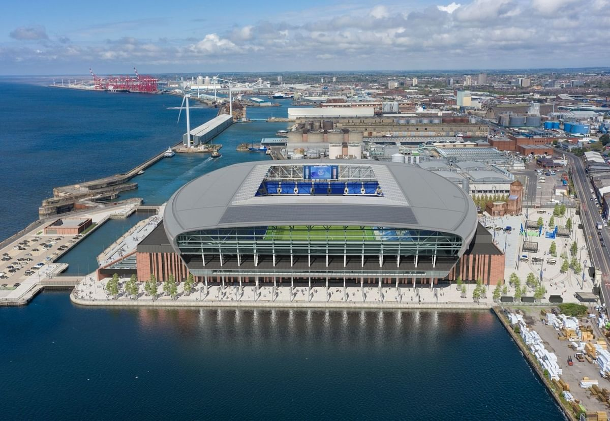 Laing O'Rourker Awards Everton Stadium Steel Package to Severfield
