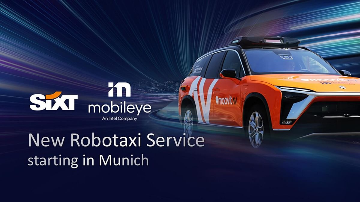Mobileye & SIXT Plan New Robotaxi Service in Germany