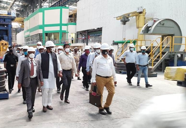 RINL's Forged Wheel Plant at Rae Bareli to Start Production by Oct