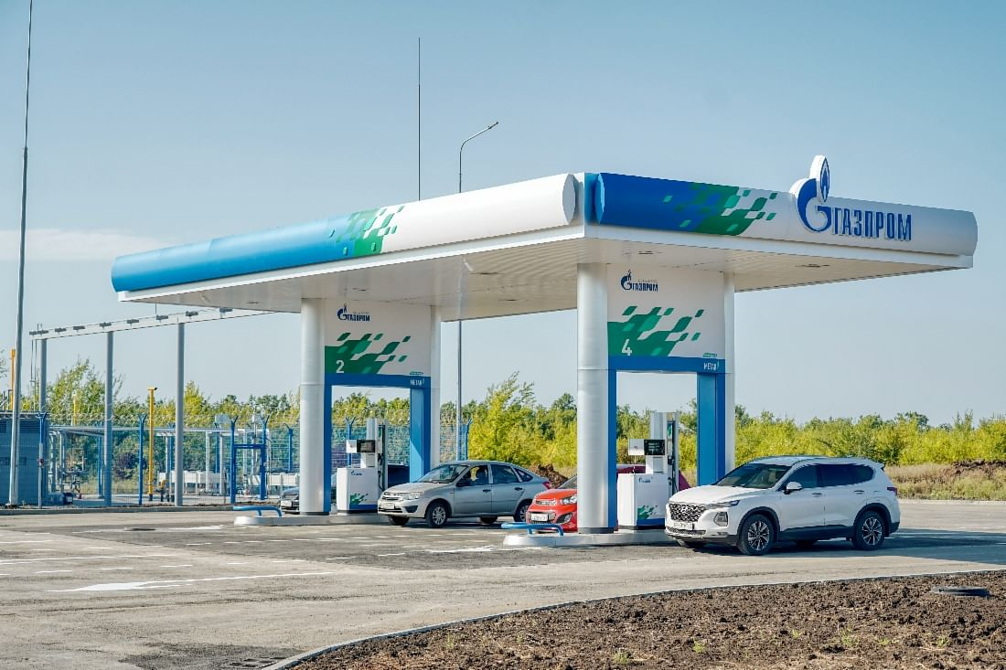 Gazprom Launches Gas Filling Stations in 5 Russian Regions