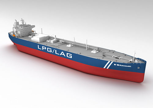 Kawasaki Bags Order for LPG Fueled LPG & LAG Carrier