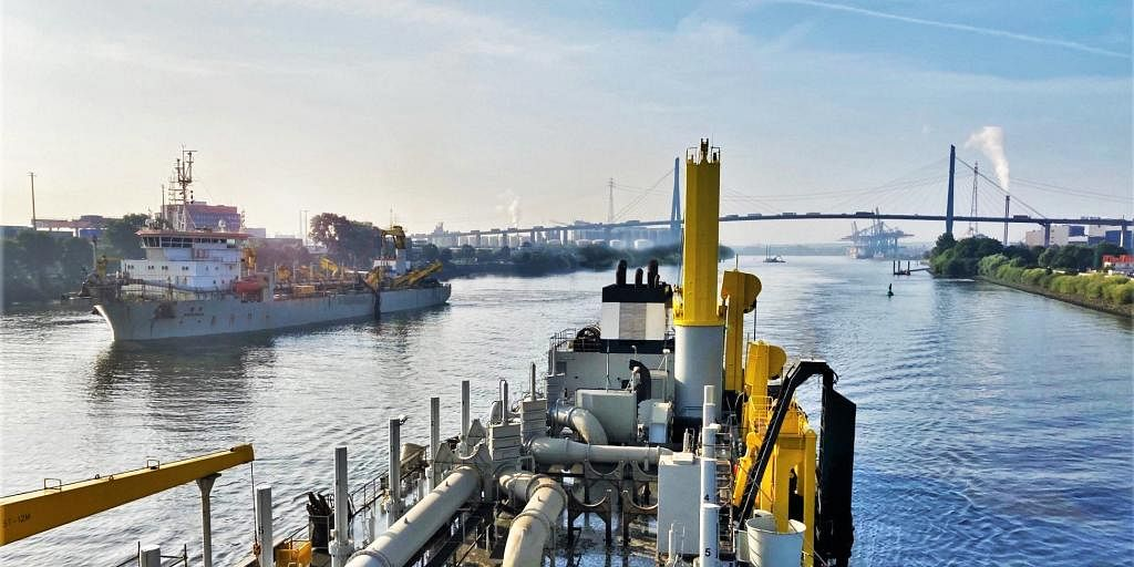 Jan De Nul Using Biofuel for Dredging Works in North Germany