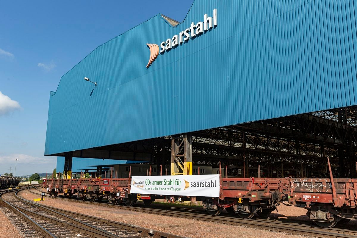 Saarstahl Ascoval's Low Carbon Steel Billets Reach Burbach Mill