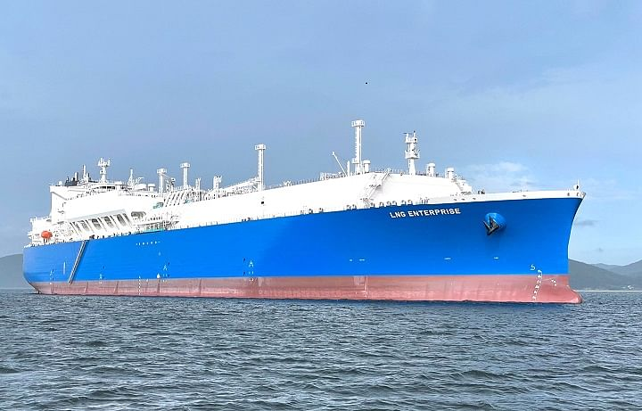 NYK delivers New LNG Carrier to TotalEnergies