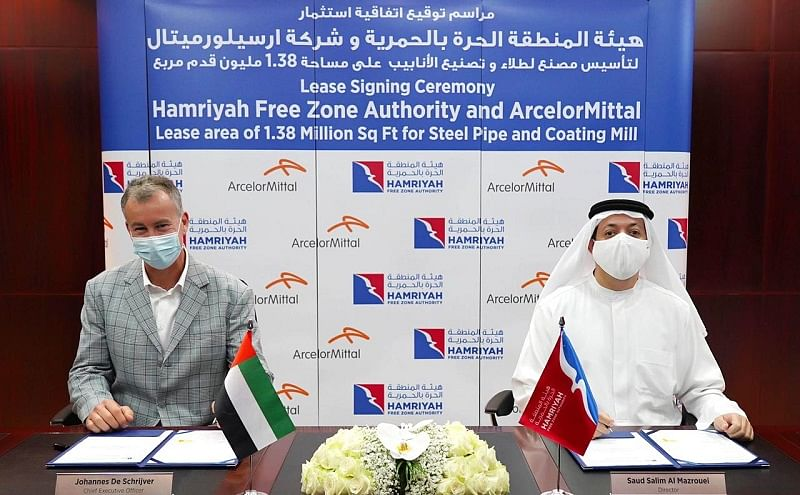 ArcelorMittal to Acquire Pipe & Coating Plant at HFZA in Sharjah