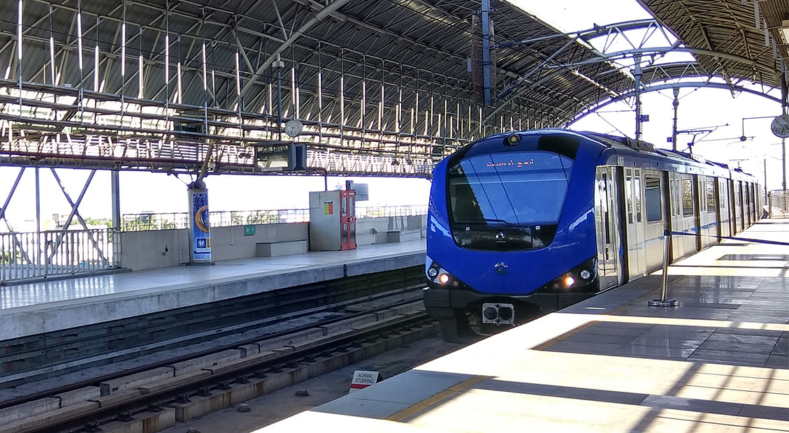 AIIB Funding Chennai Metro Rail