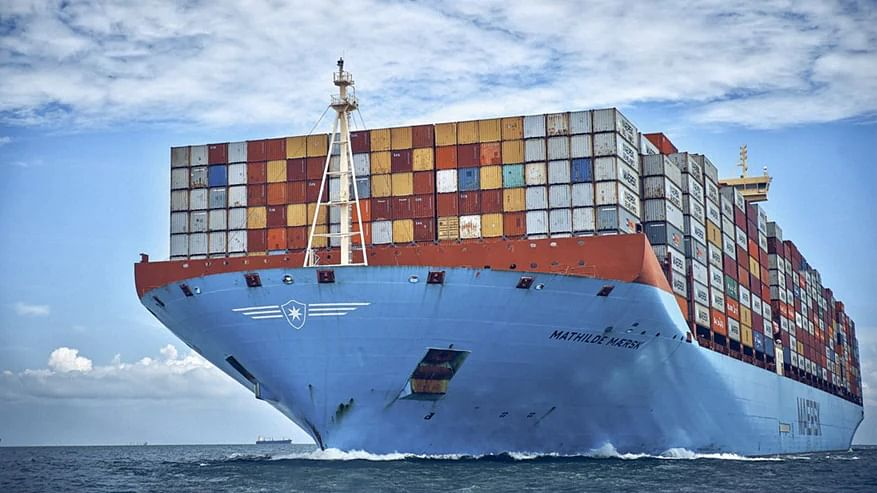 AP Moller Maersk & Danish Crown Ink Global Logistics Pact