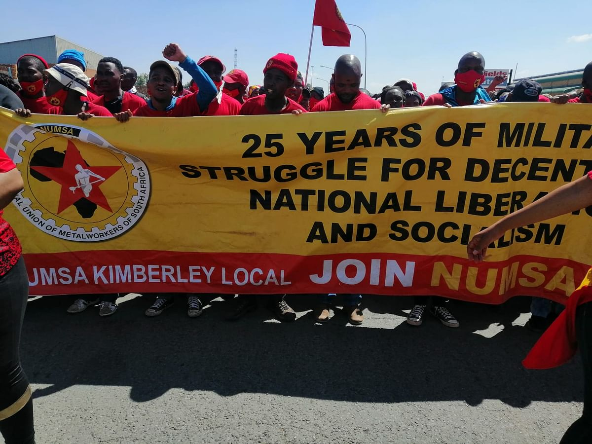NUMSA Worker Strike Starts in South African Engineering Sector