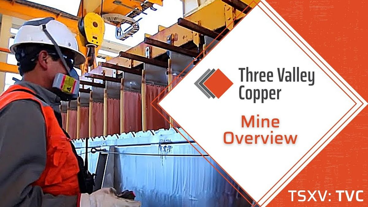 Three Valley Copper to Starts Mining in Chile in December