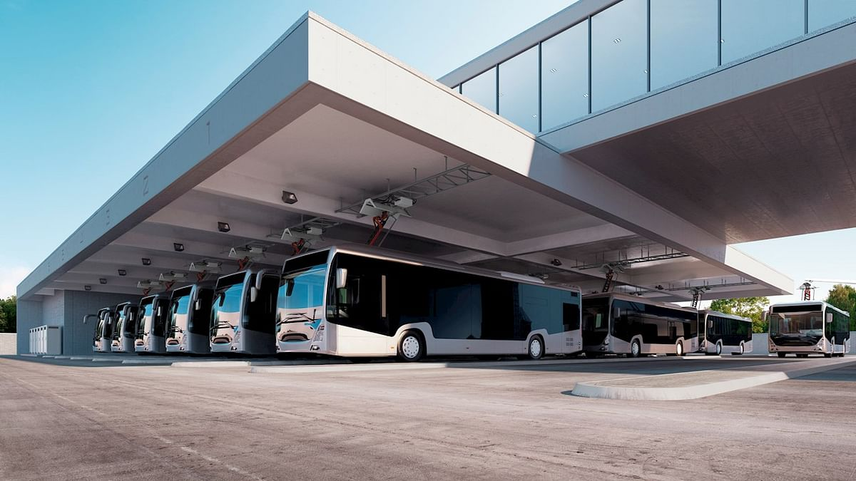 Basel Selects ABB for e-Bus Charging Technology