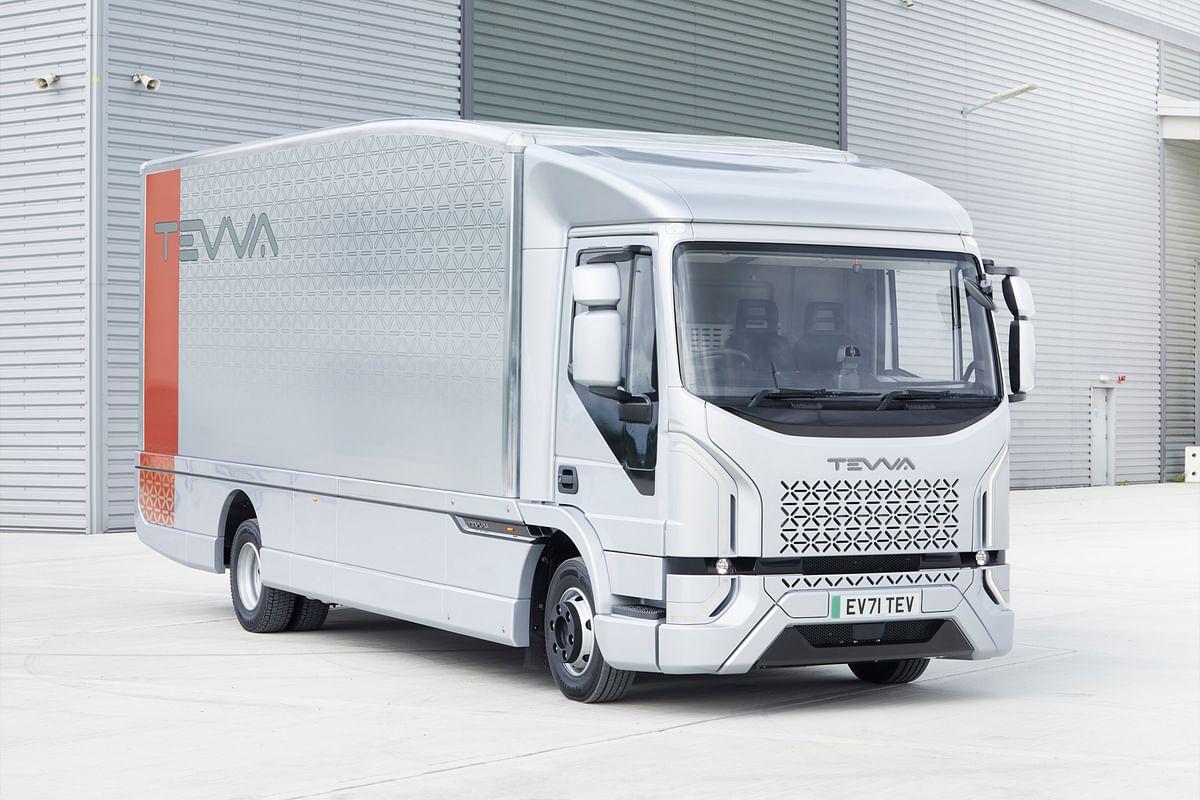 Tevva Unveils Electric Truck in UK