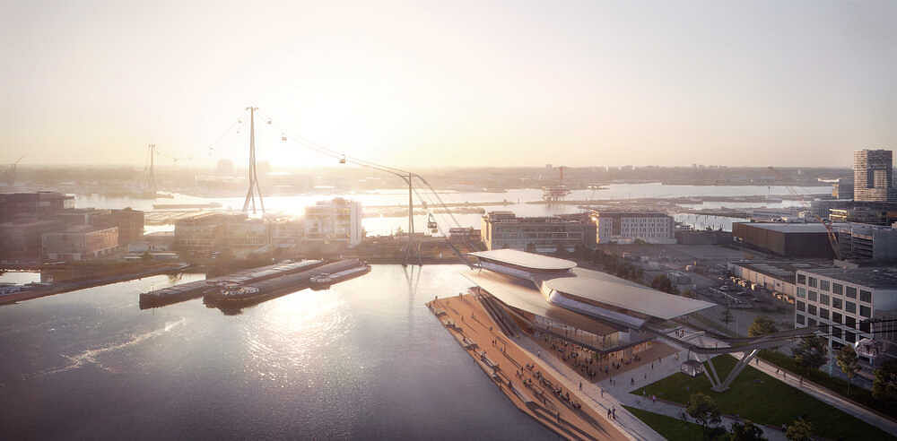Amsterdam City Council Gives Support for IJbaan Cable Car