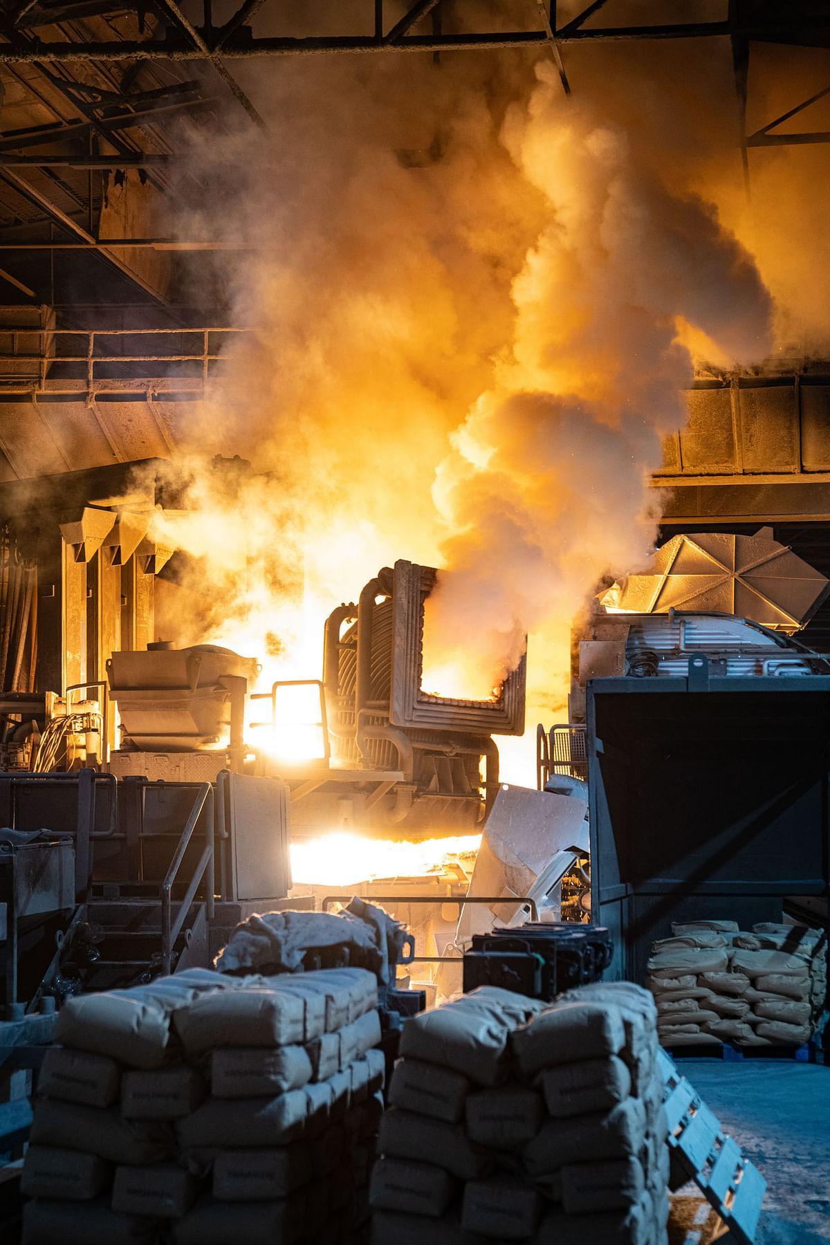 Marienhuette Graz Implement Al Solution in EAF Steel Production