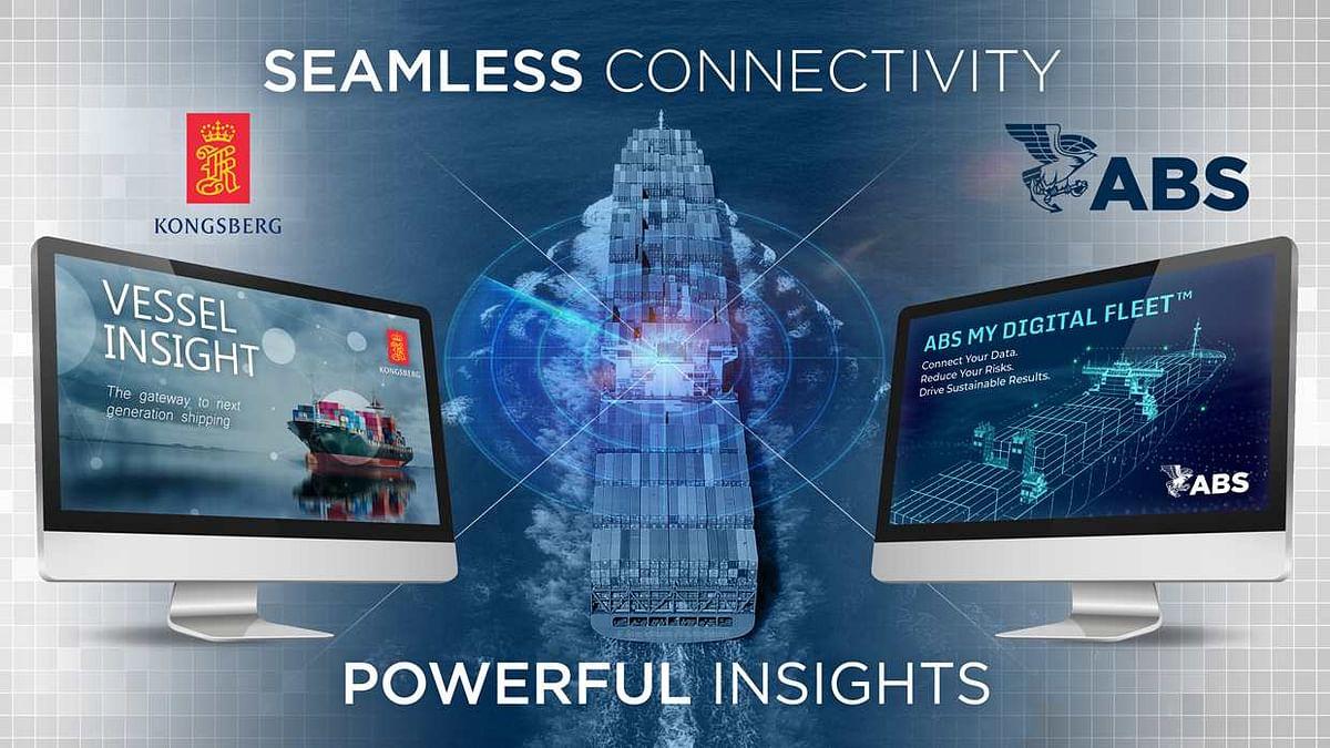 ABS & Kongsberg Digital to Power Maritime Digitalization