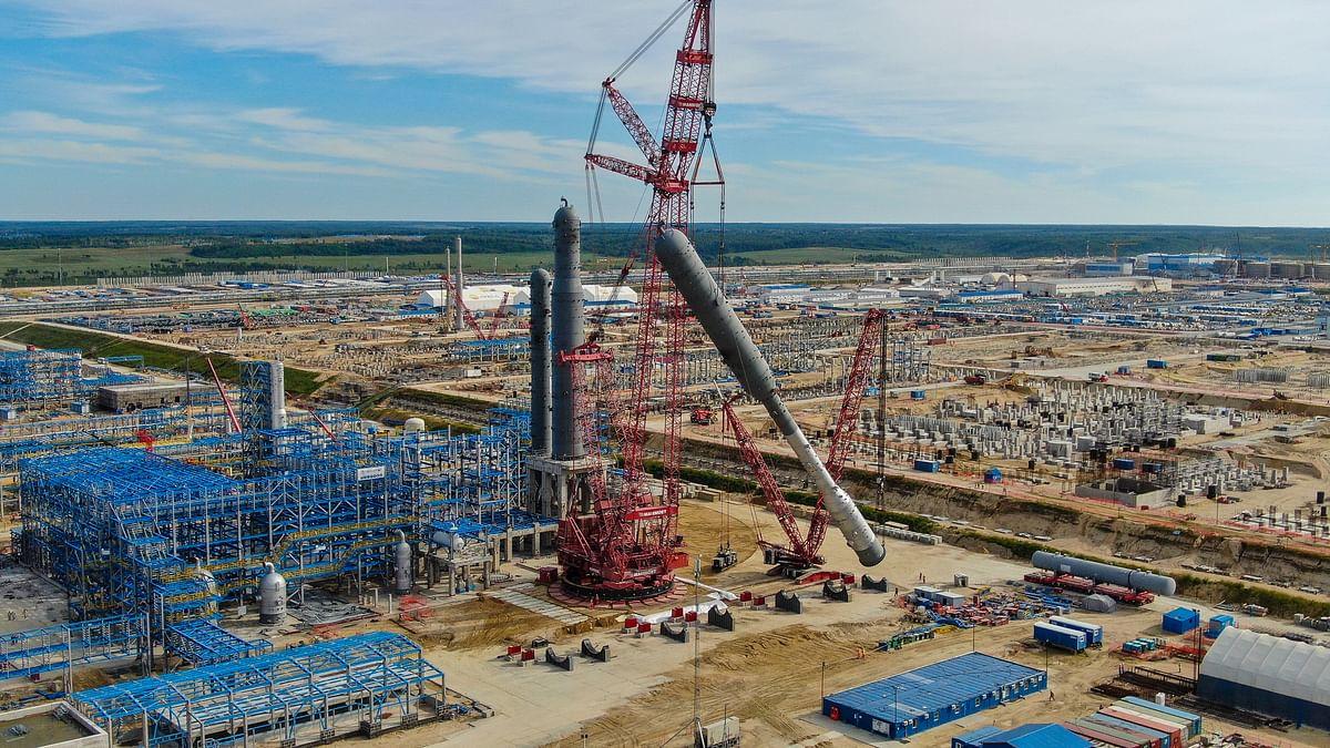 Mechel Supplies I Beams for Construction of Amur Gas Plant