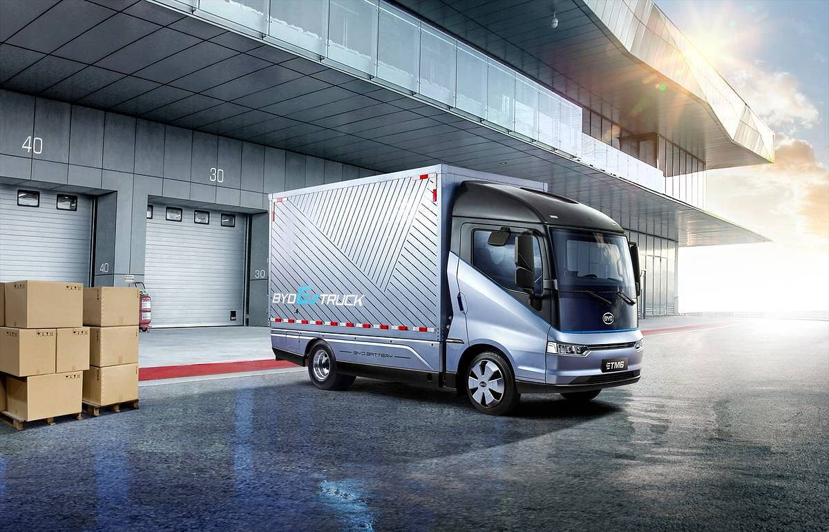 BYD & Petros Petropoulos to Sell eTrucks in Greece