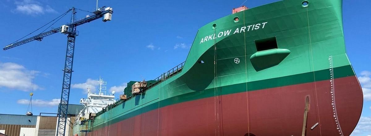 Damen Delivers High Lift Rudders for Ten Arklow Vessels