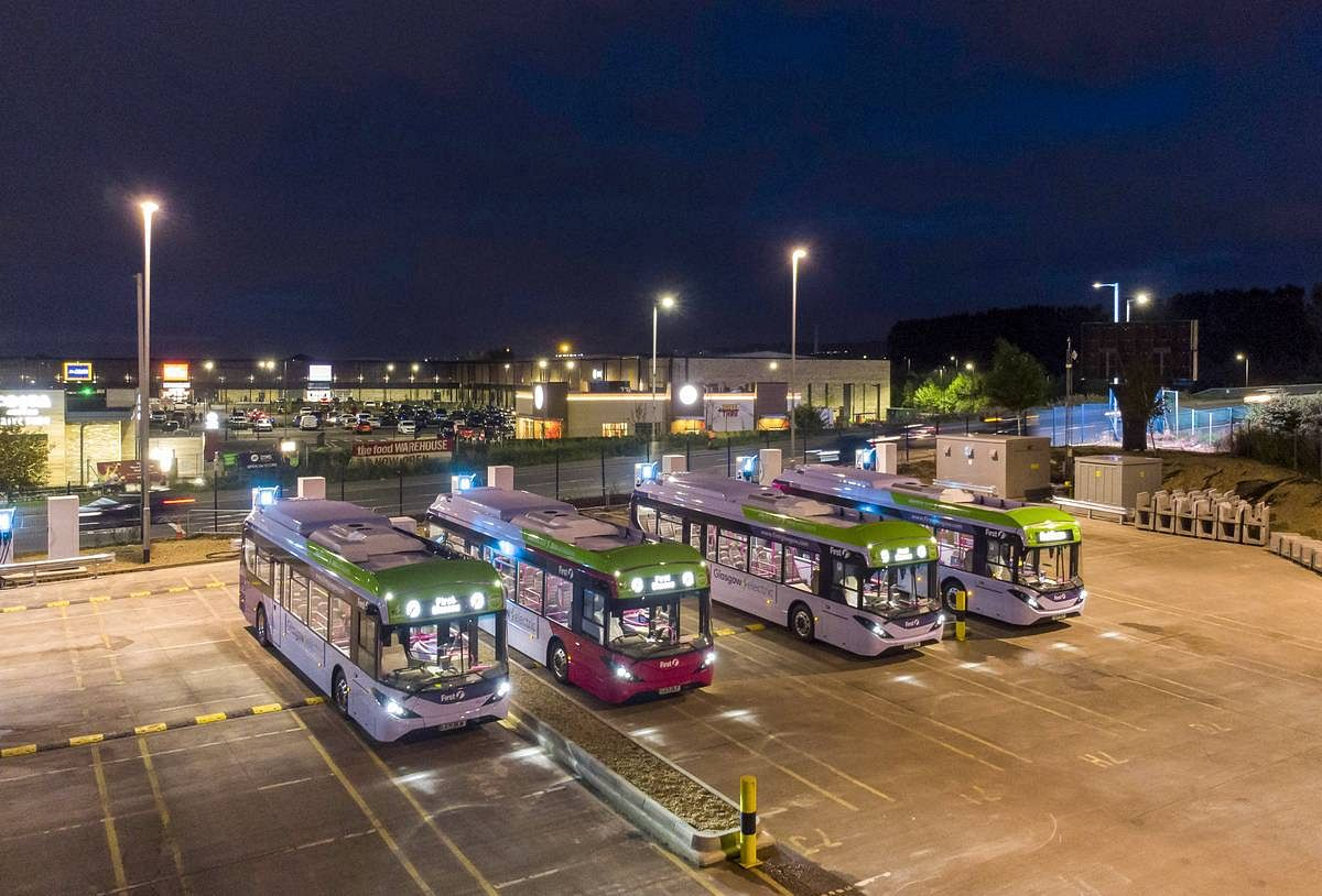 BYD ADL Electric Buses as Official Shuttle for COP26 Delegates