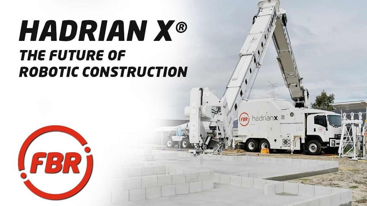 FBR's Hadrian X Robot to Build Wall as a Service in St James