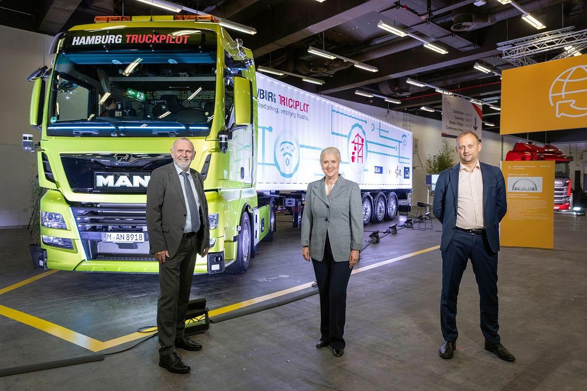 MAN & HHLA Pioneer Logistic 4.0 with Autonomous Hamburg TruckPilot