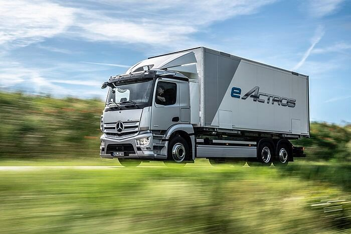 Production of eActros Starts at Mercedes-Benz Plant Wörth