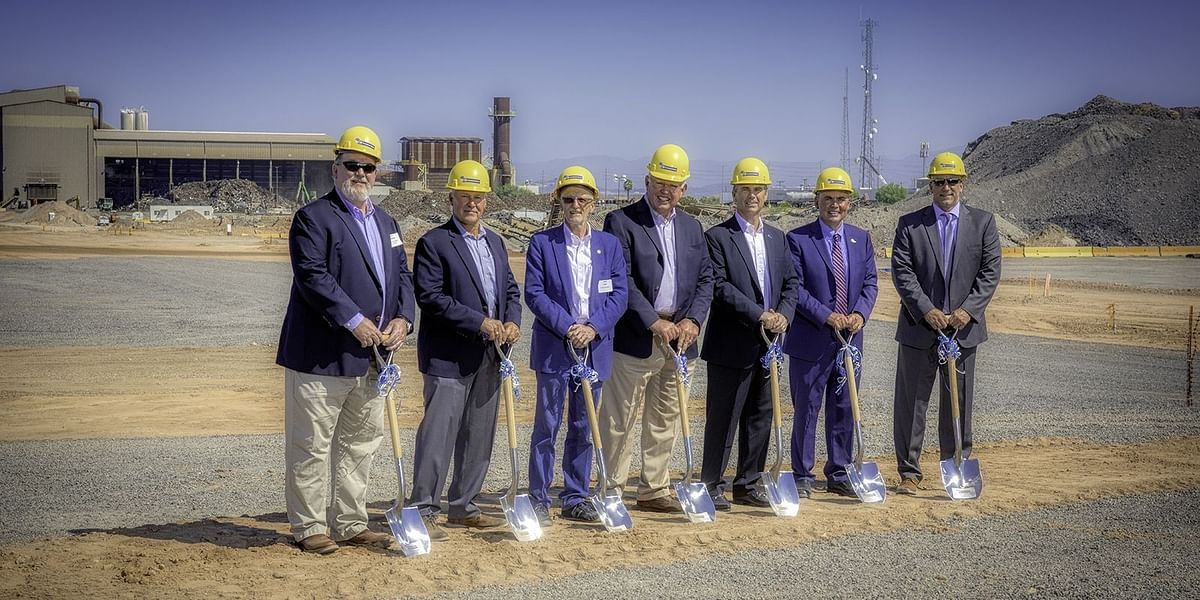 Commercial Metals Company Breaks Ground on Mida Micro Mill