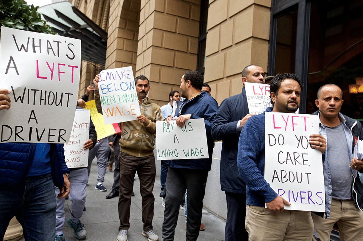 Lyft drivers have been organizing regularly since their IPO in May 2019