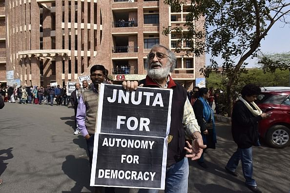 JNUTA protest/Getty Images