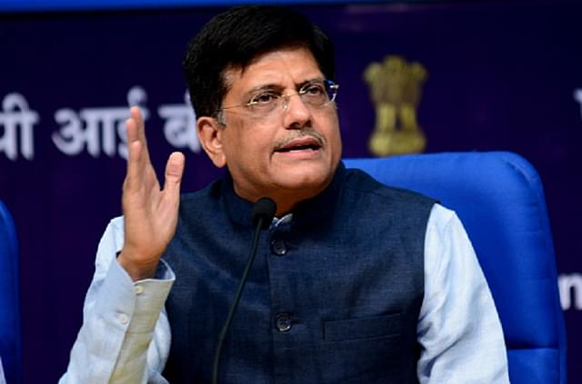 Swarajya Exclusive Interview With  Piyush Goyal