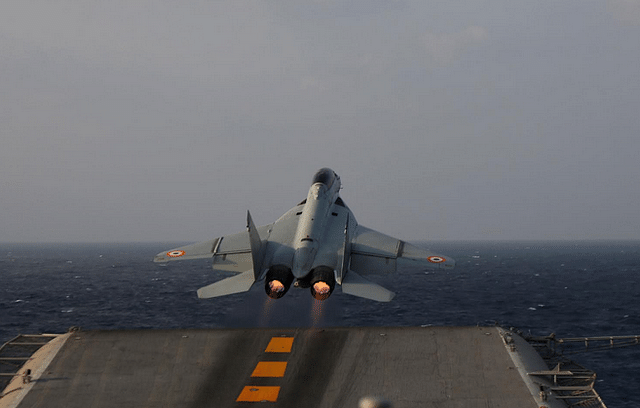 Indian Navy's Mig-29K Fighters To Be Deployed At Northern Bases Of Air Force Amid LAC Tensions With China