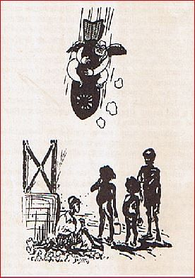 People's War cartoon taunting Subash Chandra Bose. (Courtesy Arun Shourie)