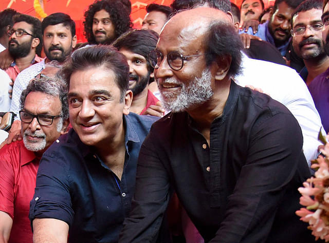 "If Rajinikanth Joins Politics Kamal Haasan Ready To ""Work With Him"""