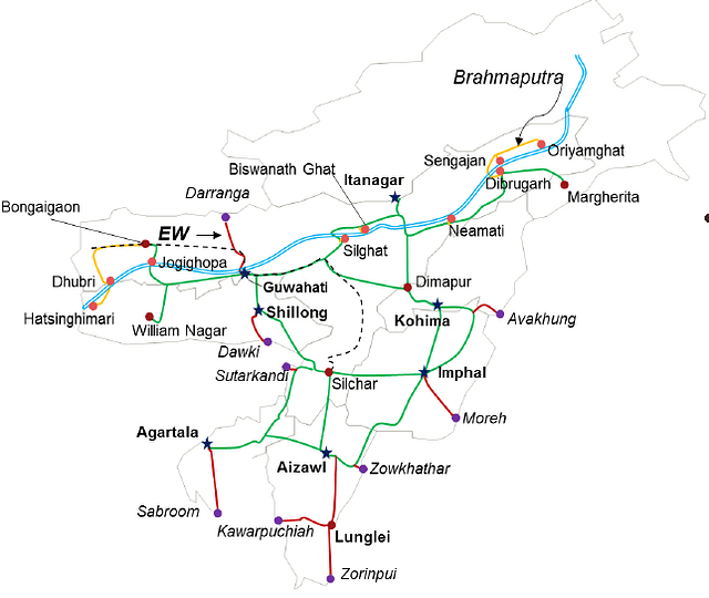 The North East corridor