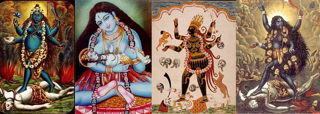 Forms of Kali whether in calendar art or tribal art - are enigmatic and imbibed with layers of meaning and also transcend meaning.