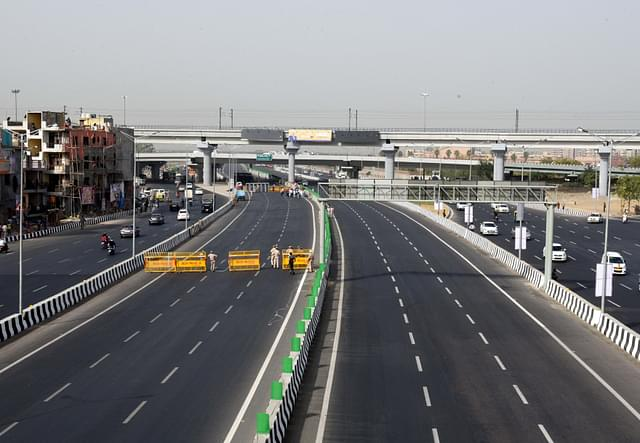22-km Stretch Of India's First Ever 14-Lane Expressway To Be Inaugurated By Nitin Gadkari On Monday