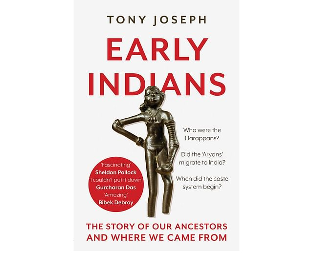The cover of Tony Joseph's <i>Early Indians: The Story of Our Ancestors and Where They Came From.</i>
