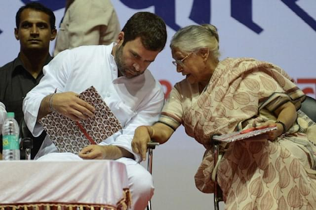 Sheila Dikshit To Hold Demonstration Outside Rahul's Residence To Plead With Him To Not Resign As Congress Chief