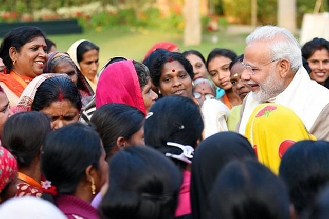 Modi's focus on women empowerment helped firm his feet against a hate campaign.