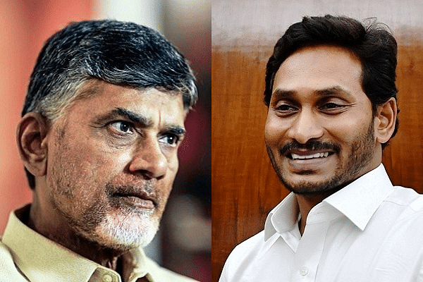 Jagan-Naidu Feud Erupts Again: Andhra Govt Suspends Senior Cop Believed To Be Close To Naidu, For Treason