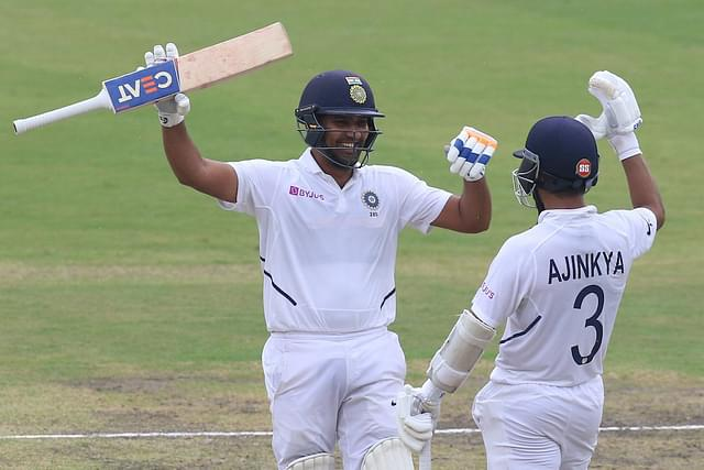 Ro'Hit' Sharma Scores Maiden Test Double Century In Last Test Against South Africa, Hits Most Sixes In A Series