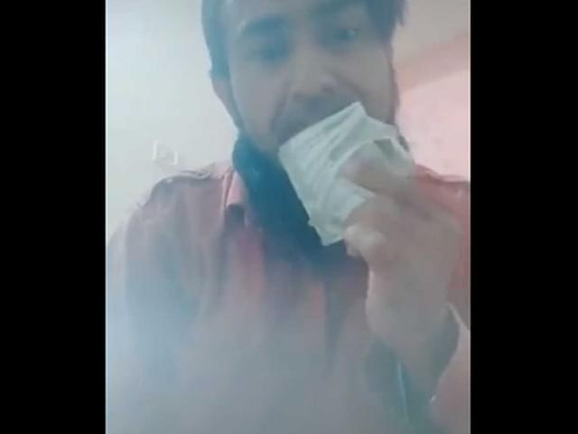 Nashik Cops Arrest Man For A Video Wiping Nose, Mouth With Currency Notes And Calling Coronavirus As Allah's Punishment
